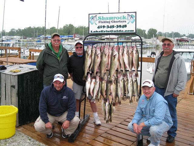 Lake erie fishing charters on lake erie 39 s western basin for Lake erie perch fishing report central basin